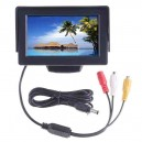 "7"" Security LCD Wide Screen Car Rear View Backup Parking Mirror Monitor"